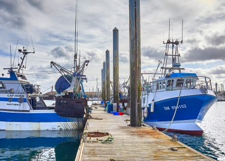 carte des ports de pêche